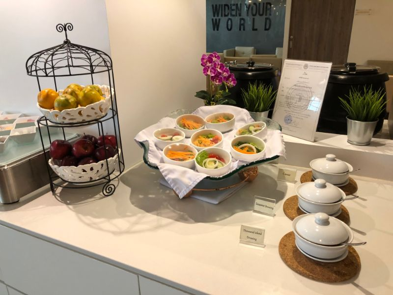 Turkish Airlines Orchid Lounge@スワンナプーム国際空港-ミール類